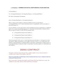 Employee Termination Templates Printable Termination Letter Template Firing Employee