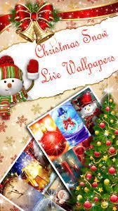 Christmas Live Wallpaper ❄ Snowfall ...
