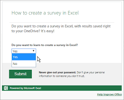 How To Create A Survey Using Excel Bettercloud Monitor