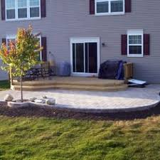 block patio dimensional bbq