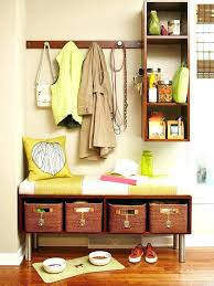 Coat Rack With Storage Baskets entryway storage tower imdrewlittle 82