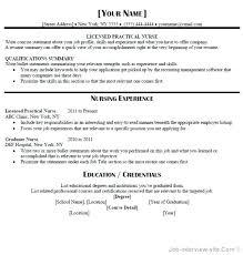 Free Lpn Resume Templates Interesting Sample Resume For Marvelous Lpn Resume Sample Free Career Resume
