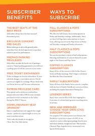 The Phoenix Symphony 2016 2017 Season Brochure By The