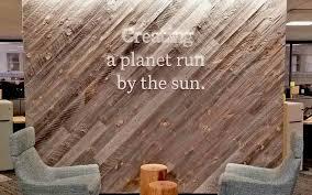 wood as a biophilic design element