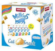 Купить со скидкой <b>Лакомство</b> для кошек Анимонда Милкис набор ...
