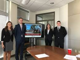 auditor o brien hosts du accounting students on internship project macc students auditor presentation 1