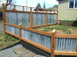 corrugated fence corrugated metal fence panels corrugated metal fence ideas best about on panels corrugated metal
