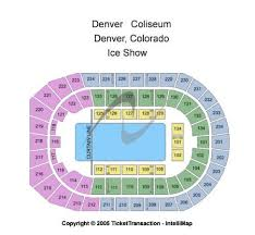 Denver Coliseum Seating Chart Rodeo Denver Coliseum Tickets And Denver Coliseum Seating Chart