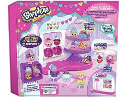 Shopkins Cupcake Queen Cafe Playset The Entertainer