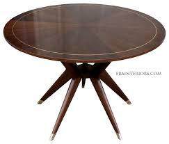 catchy mid century modern round dining table with round mid century modern dining table
