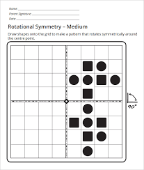 Sample Rotational Symmetry Worksheet | 17 Free PDF, Powerpoint ...