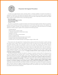 6 college financial aid appeal letter quote templates 6 college financial aid appeal letter