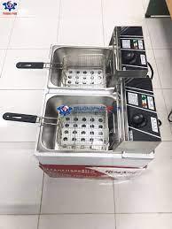 Bếp chiên nhúng điện đôi HX-82 - 2 hộc 2 giỏ chiên riêng biệt