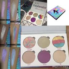 new brand love luxe beauty fantasy palette highlighter makeup eyeshadow palette glow kit bronzer dhl gift mr565 eye makeup styles eyeshadow brushes from