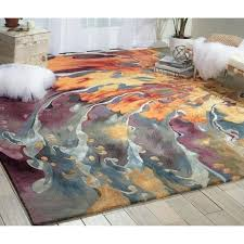 color block area rug with neon and rugs texture threshold beauty look for any room