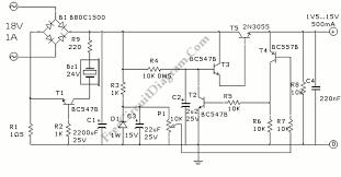 2n3055 variable power supply circuit circuit wiring diagrams 2n3055 variable power supply