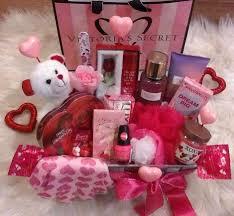victoria s secret valentine s gift basket love addict fragrance spa chocolates holidays valentines day gift baskets