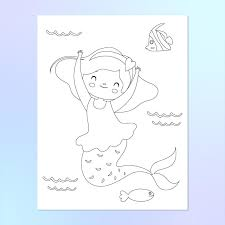 Check these out, maybe you like that too. Mermaid Coloring Pages For Kids Simple Everyday Mom