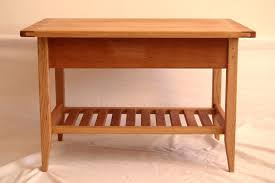 shaker style furniture. custom made cherry shaker style coffee table with drawer and shelf furniture