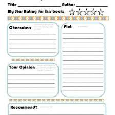 Free Book Report Templates 30 Book Report Templates Reading Worksheets 65267623696 Free