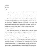 mp essay koczan evan koczan mr tortorici religion  3 pages religion essay 2 mp3