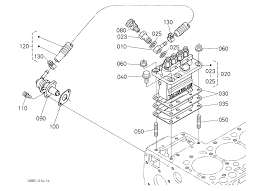 parts for kubota l tractor loader backhoes magnify mouse over diagram to magnify kubota 10203901 l48 engine injection pump