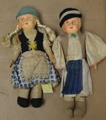 Image result for paired dolls