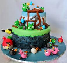 Angry Birds Birthyday Cake% JPG