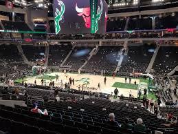 Fiserv Forum Section 116 Milwaukee Bucks Rateyourseats Com