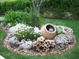 how to arrange a rock garden design
