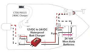 minn kota battery charger wiring diagram how to wire a 24 volt trolling motor plug at Minn Kota 24 Volt Wiring Diagram