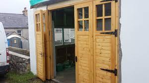 folding garage doors. Bi-folding Glazed Garage Doors In County Down Folding E