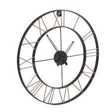oversized skeleton wall clock