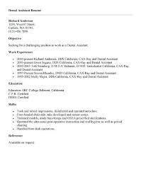 Entry Level Resumes Templates Magnificent Endodontist Resume Endodontic Assistant Resume Amere