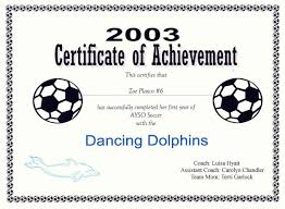 Free Soccer Certificate Templates Free Printable Soccer Certificate Templates Editable Kiddo