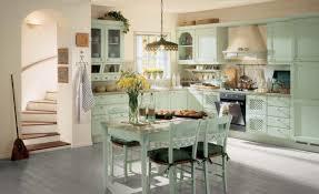 Retro Kitchen Design Decorations Retro Style Kitchen Design With Corner Green Kitchen