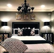 black and white bedroom decor. Gold Black And White Bedroom Decor C