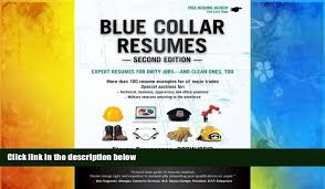 Download Blue Collar Resumes Books Online Video Dailymotion