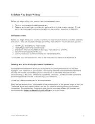 Resume Center Awesome Sample Resume Accomplishment Statements Resume Accomplishments