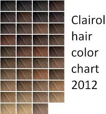 Clairol Hair Color Chart Professional Sbiroregon Org
