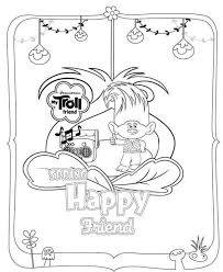 Troll Group Coloring Pages Print Coloring