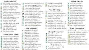 Template Project Status Report Destinscroises Info