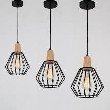 led chandelier lighting modern ceiling lights bar led lamp wood pendant light