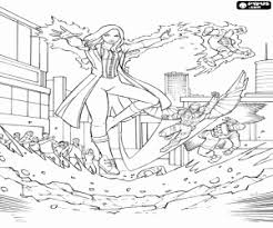 Small Picture The powerful Scarlet Witch coloring page printable game