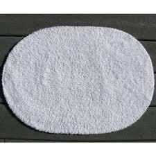 reversible bathroom rugs faze 3 reversible cotton oval bath rug white per case per each reversible bathroom rugs