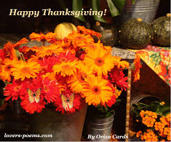 Happy Thanksgiving Day | oriza.net Portal - lovers-poems.com - Art,  Romance, Poetry