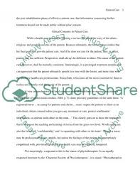 patient care essay example topics and well written essays  patient care essay example