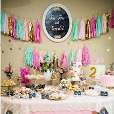 diy tassle garland birthday party decor ideas image source dhgate com