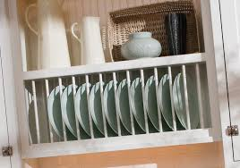 kitchen dish cabinet design ideas dinner plates rack