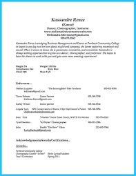 Dance Audition Resumes Pin On Resume Sample Template And Format Dance Resume